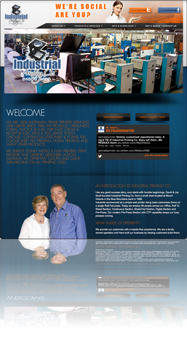 Industrial printing Co. Website